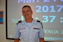 colonel Christophe Veuille, commandant en second de la gendarmerie en Polynésie française