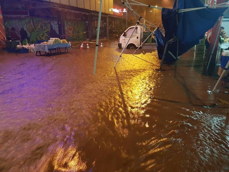 Du côté du marché de Papeete (photo facebook).