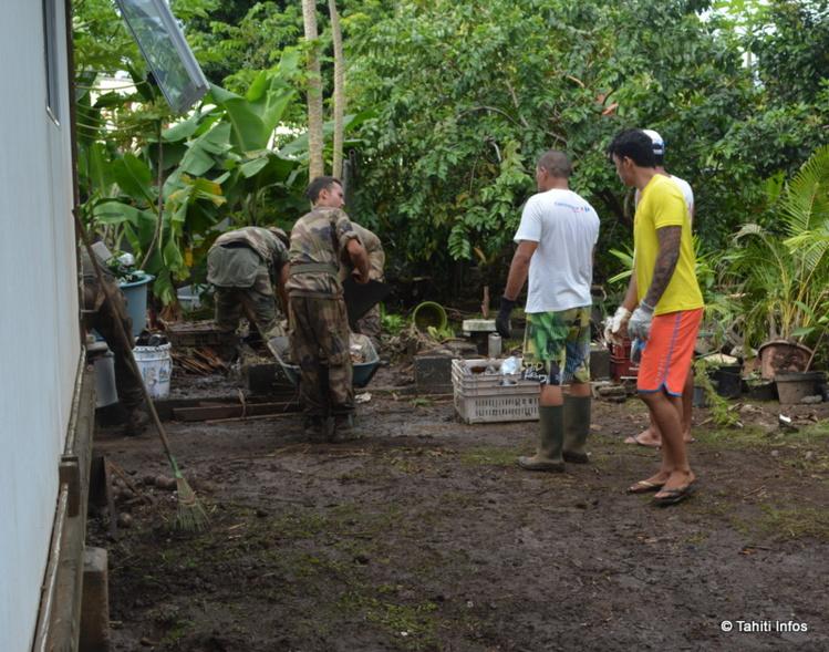Intempéries : 120 militaires mobilisés pour aider les sinistrés