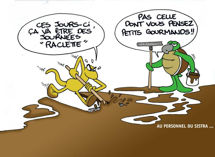 """"""" Raclette party """" par Munoz"""