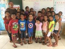 Sinistrés de Tahiti : les enfants de Tubuai solidaires
