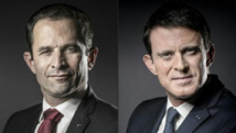 Primaire: Hamon et Valls dans un duel unique sous tension