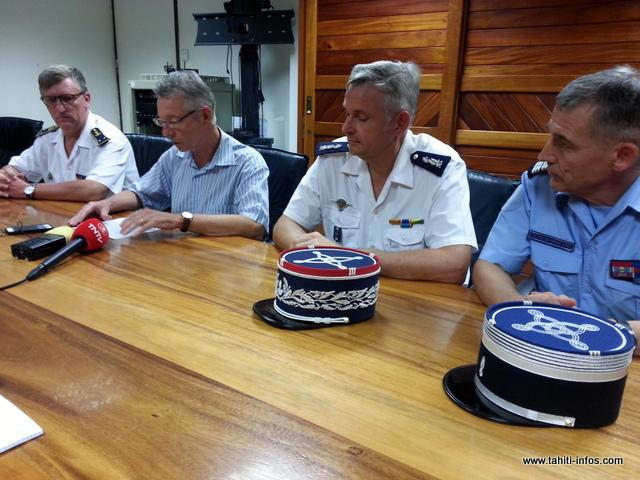 """1 438 kilos de cocaïne, une prise """"sans précédent"""" dans le Pacifique sud"""