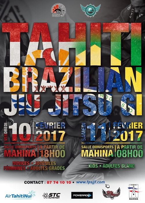 JJB – « Tahiti BJJ contest 2 » : Tahiti vs USA, le 1er tournoi international à Tahiti