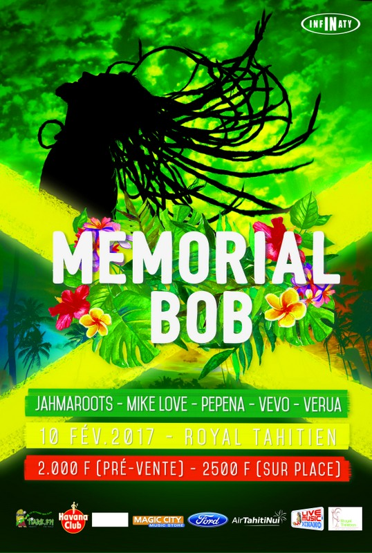 Memorial Bob 2017 : hommage musical à Marley, roi du reggae