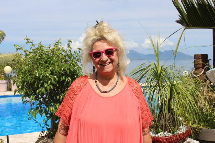 Christine Perez prépare le 3ème tome d'Échappée Pacifique