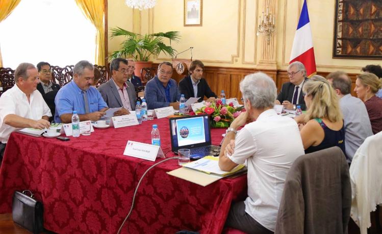 Réunion du Comité directeur du Fonds Pacifique pour l'année 2017