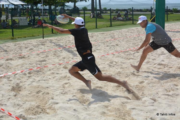 Un match entre les Pointes Blanches du Rimap-p et le Papeete Rugby Club