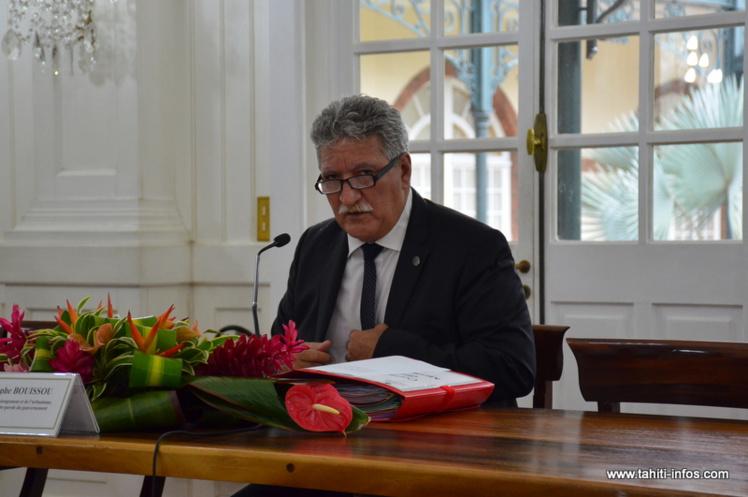 Jean-Christophe Bouissou, lundi à l'issue du Conseil des ministres.
