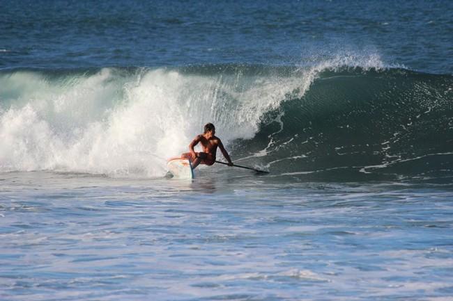 Stand Up Paddle « Championnat de Tahiti » : Poenaiki Raioha maître incontesté