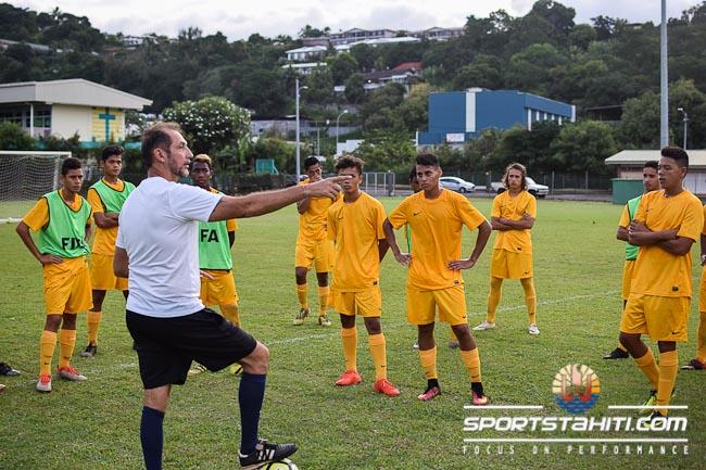 Patrice Flaccadori, le coach des U17