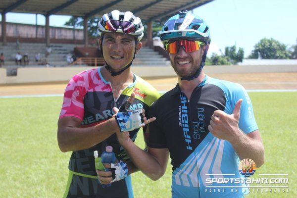 Xavier Marovelli et Raimana Mataoa