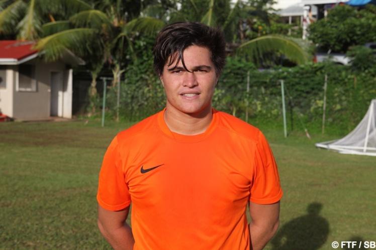 Moana Pito, le capitaine et gardien de la sélection