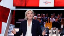 Premier grand oral pour Marine Le Pen, questionnée sur son programme