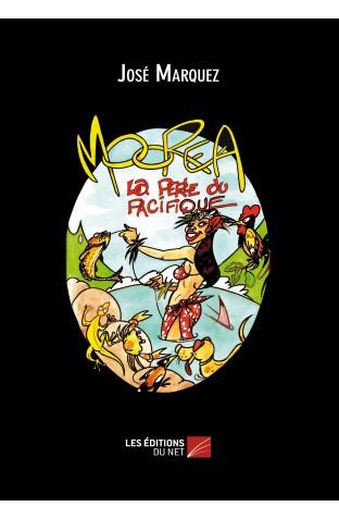 """Les planches qui paraîtront tous les vendredis dans Tahiti Infos sont issues des deux albums """"Moorea, la perle du Pacifique"""" et """"Venui et Veteari à Moorea""""."""