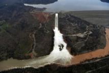 Californie: course contre la montre pour réparer un barrage
