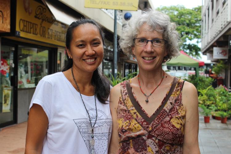 Belinda Hui, des Petits ateliers Mindfulness, elle fait partie du centre de méditation Naropa et enseigne la méditation à l'école et Hilary McMichael.