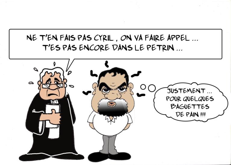 """"""" Cyril le Boulanger """" par Munoz"""