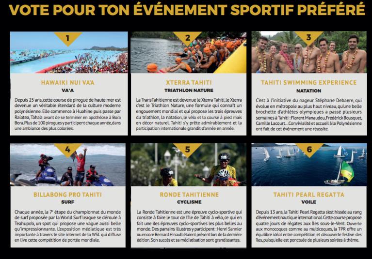 Trophées du sport: le public votera pour son évènement préféré