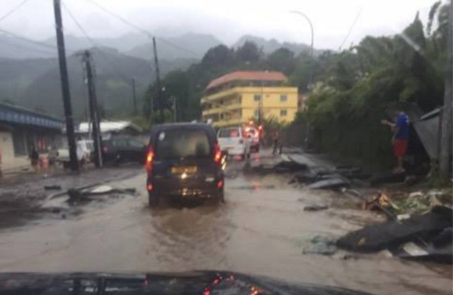 Le quartier de l'hippodrome avait déjà été gravement sinistré lors des fortes pluies du 22 janvier (notre photo).