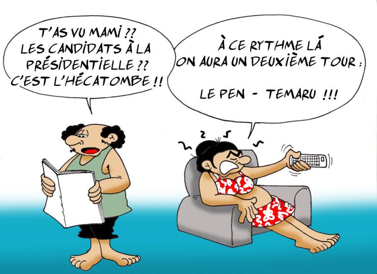 """"""" Les présidentielles """" vu par Munoz"""