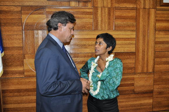 Les demandes de Winiki Sage à la ministre des Outre-mers