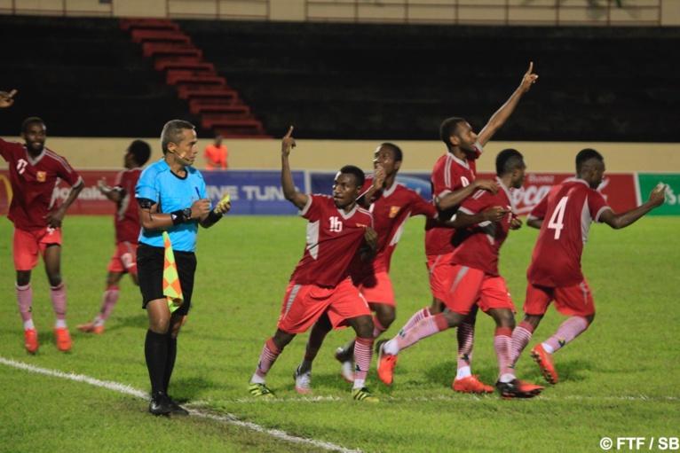 Le deuxième but de la Papouasie a été synonime d'élimination du tournoi pour Tahiti
