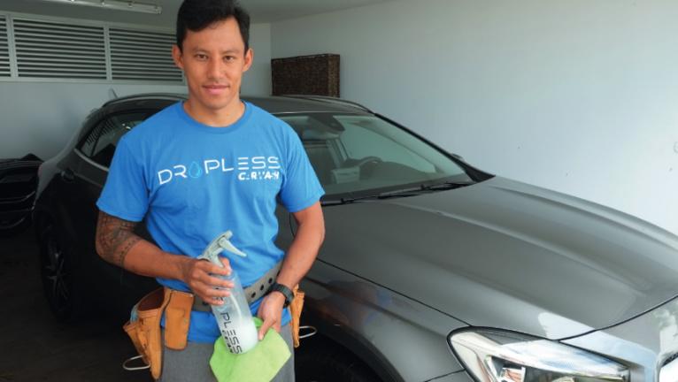 Après avoir testé de nombreuses filières, Moana Pugibet est devenu entrepreneur.