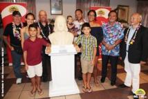 Le buste de Louis Langomazino, de Saint-Tropez à Papeete