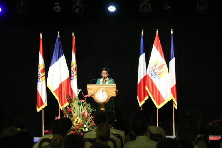 L'allocution d'Erika Bareigts en clôture de sa visite officielle en Polynésie française