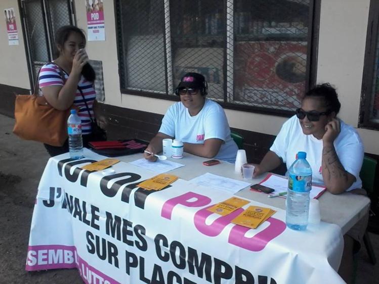 Aux îles Sous-le-Vent, il y aura 342 bénévoles mobilisés. Ils seront reconnaissables à leur tee-shirt et à leur badge.