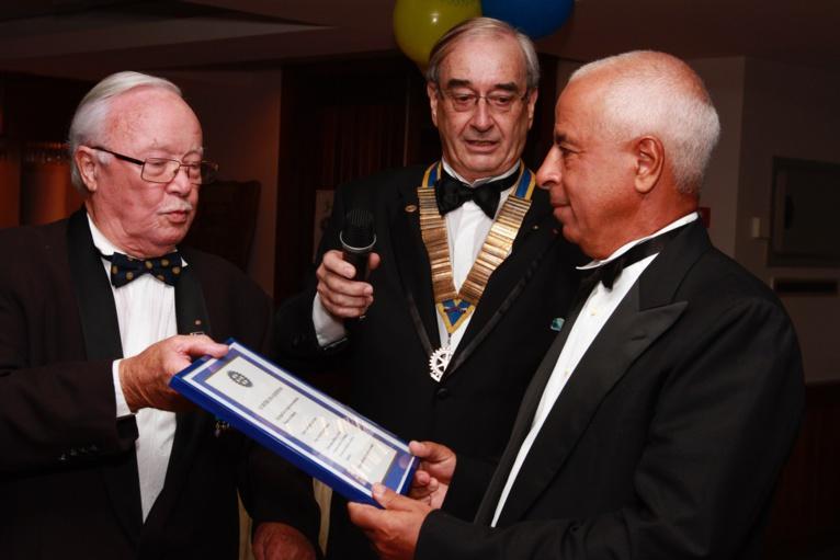 Soirée de gala de bienfaisance du Rotary Club