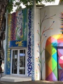 VHILS, une star de l'art urbain contemporain à Tahiti...