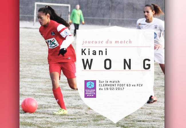 Foot Féminin : Kiani Wong, l'étoile polynésienne brille en Métropole