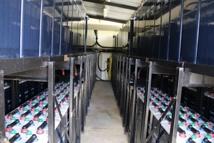 Les batteries de la centrale de Ahe devront bientôt être changées.