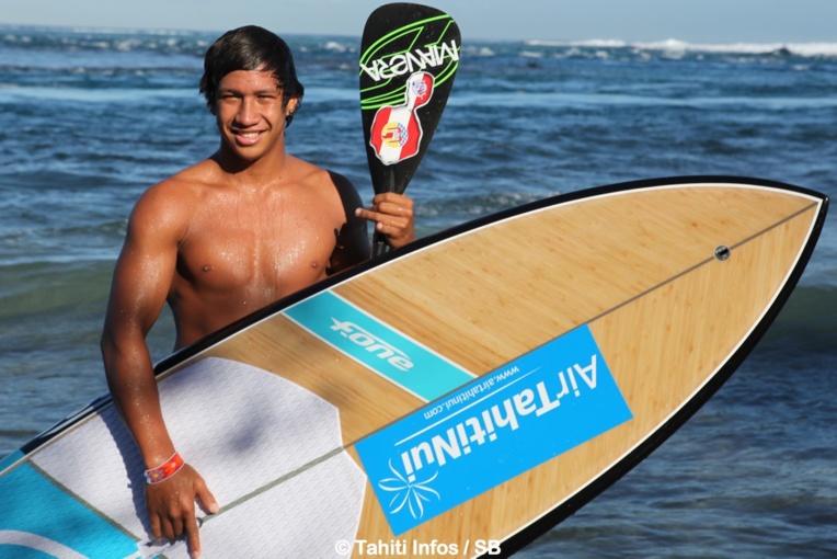 Poenaiki Raioha obtient une 5e place au Sunset Beach Pro (archives SB)