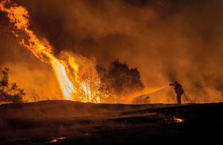 La grande majorité des incendies aux Etats-Unis sont provoqués par l'homme