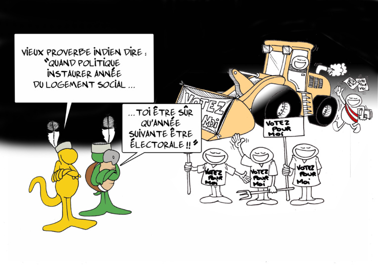 """ Le logement social "" par Munoz"