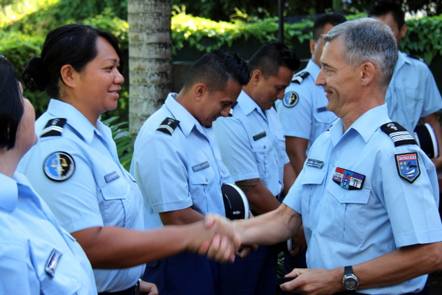 La gendarmerie en Polynésie française dispose désormais de 189 officiers de police judiciaire dans ses rangs, sur 310 personnels.