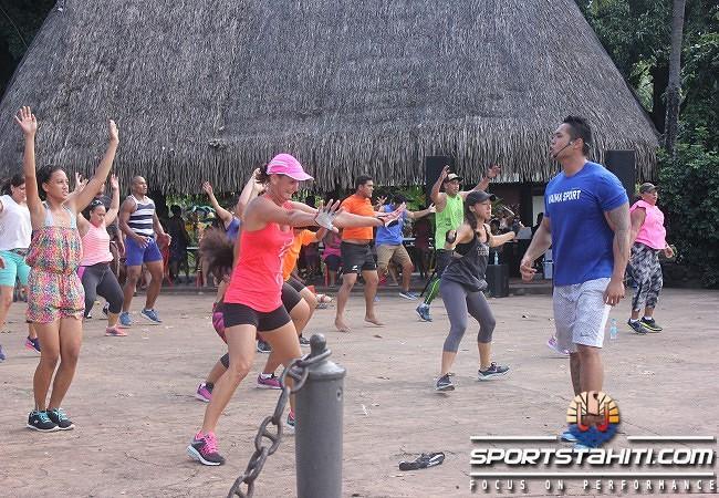 Fitness marathon : Coach Christian a fait bouger Papeete
