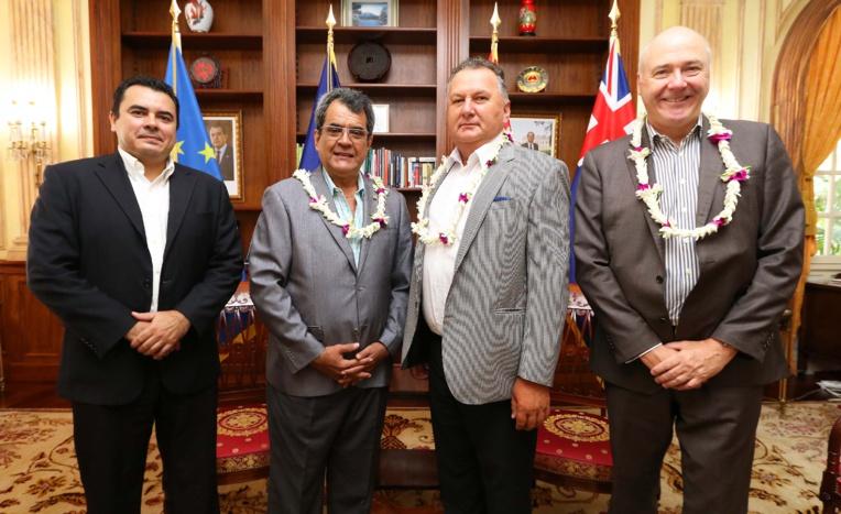 L'ambassadeur de la Nouvelle-Zélande pour le développement du Pacifique reçu à la Présidence