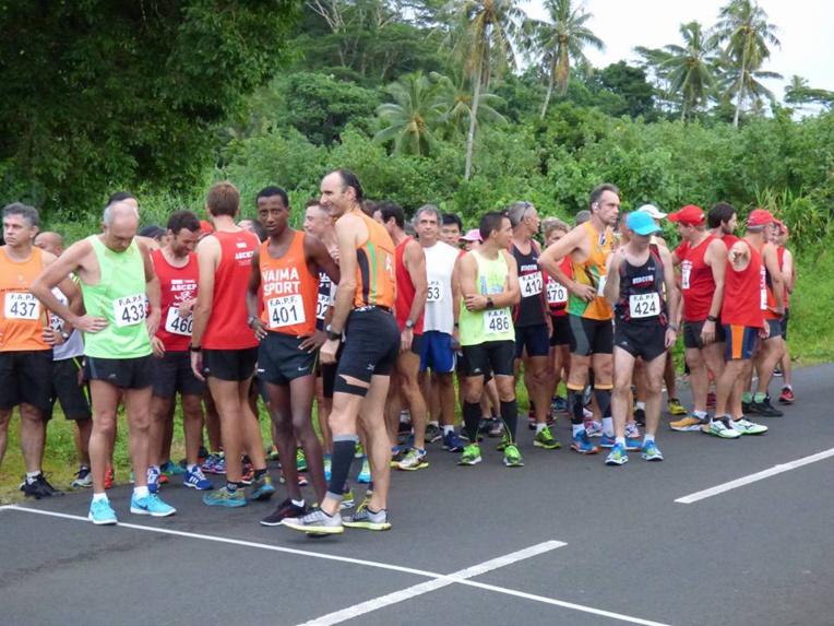 Samuel Aragaw est devenu le nouveau champion de Polynésie de semi marathon
