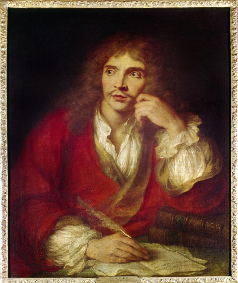 Molière était le comédien et auteur favori du jeune Louis XIV et de sa cour.