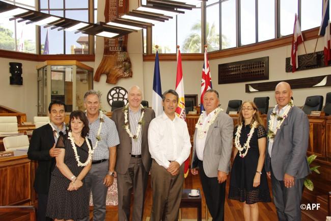 L'ambassadeur de Nouvelle Zélande reçu à l'assemblée