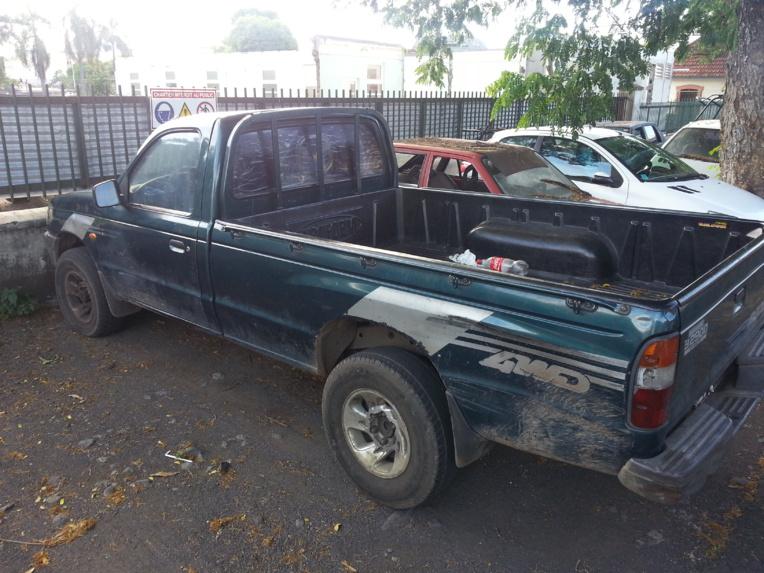 Le pick-up utilisé par les cambrioleurs avait été saisi par les policiers de la DSP.