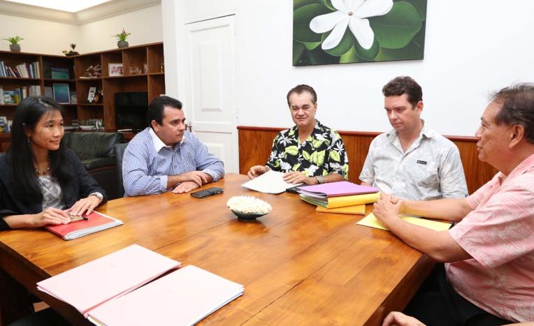 Le vice-président rencontre la CCISM : les projets pour 2017