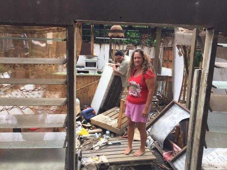 Un mois et demi plus tard, Mareva et son mari ne savent toujours pas s'ils auront une nouvelle maison.