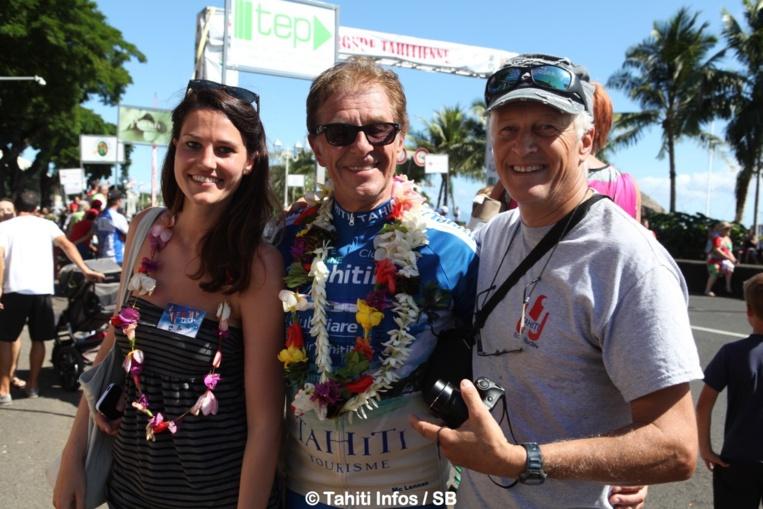 Henri Sannier est désormais un habitué de la Polynésie