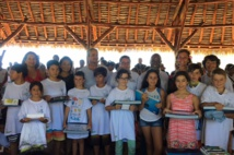 La ministre de l'Education participe à la remise des prix de l'Eco-quiz