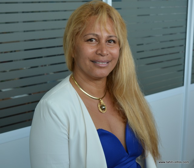 "Marine Le Pen ""est la seule qui a un programme pour la Polynésie"", selon Gilda Vaiho-Faatoa"